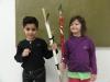 CP de l'école de St Fimin, faire flèche de tous bois