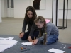 élèves de l'école d'art d'Amilly